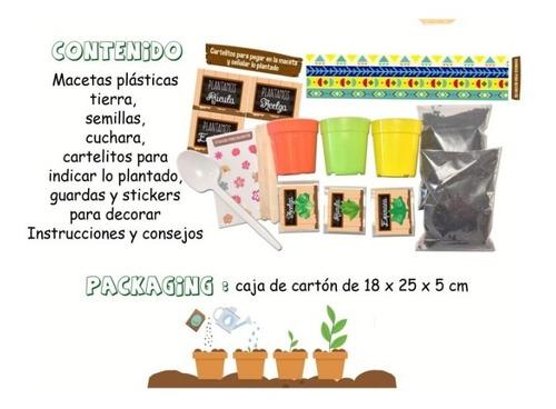 mi huerta para niños - manualidades - kit niños - hermoso