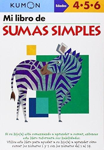 mi libro de sumas simples kumon publishing