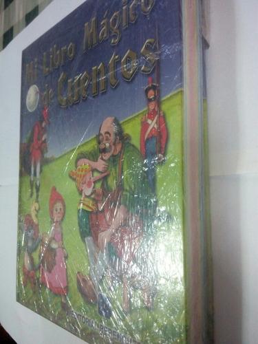 mi libro magico de cuentos nuevo importado pasta gruesa