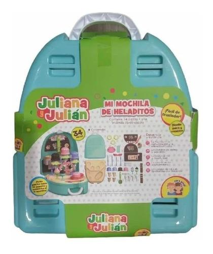 mi mochila de heladitos juliana y julián juguete sisjyj006