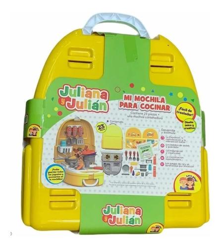 mi mochila para cocinar valija juliana y julian jyj005 edu