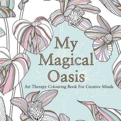 Mi Oasis Mágico: Terapia Del Arte Para Colorear Libro - $ 95.111 en ...