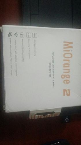 mi orange chromecast 2