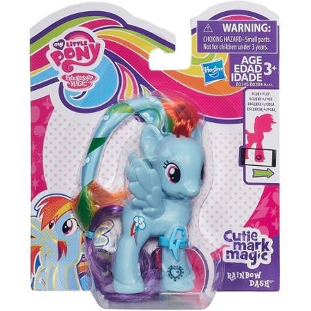 mi pequeño pony cutie marca magic rainbow dash figura