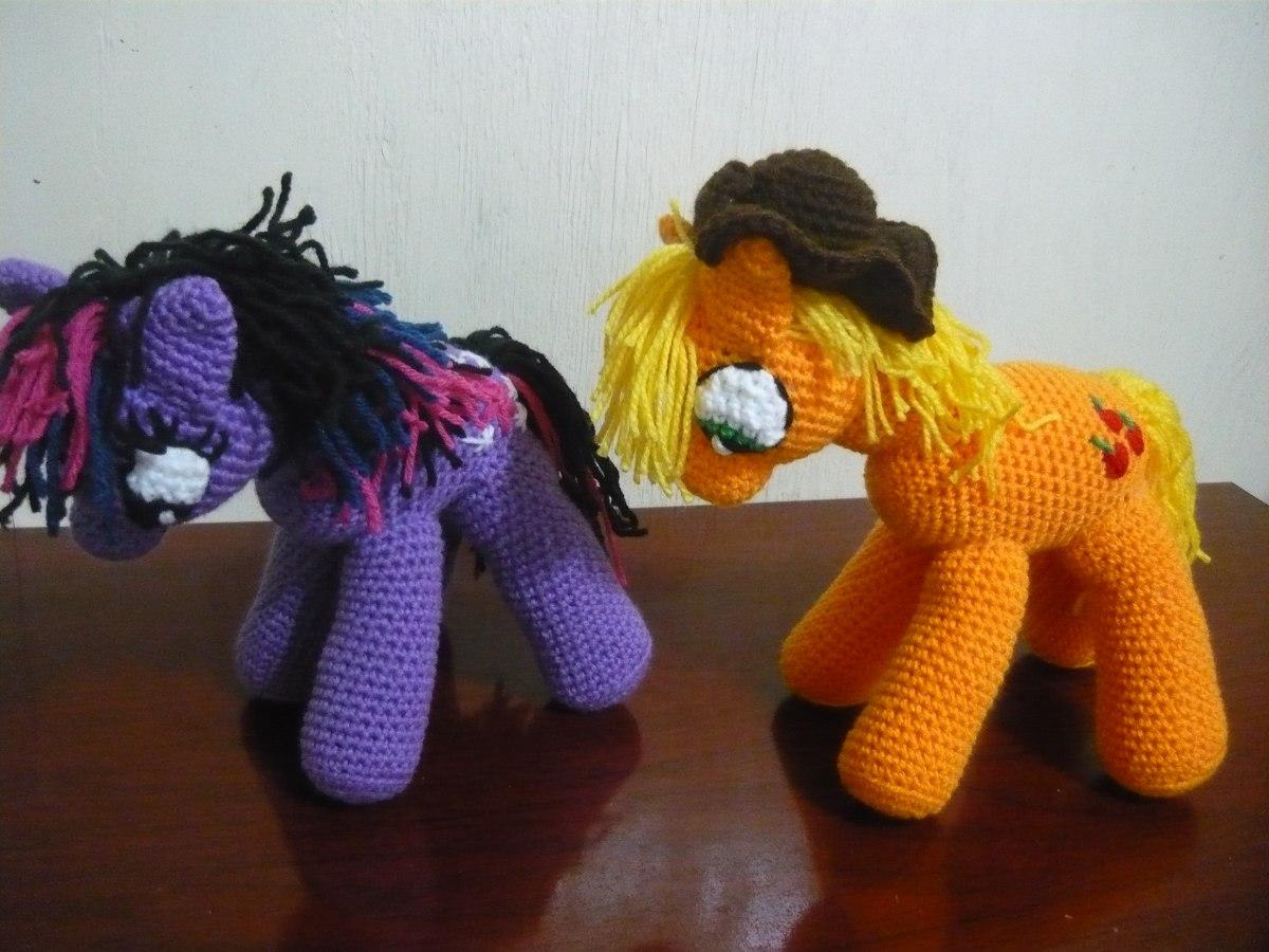 Pequeno Pony Amigurumi Patron : Mi Pequeno Pony En Crochet-amigurumi - USD 400,00 en Mercado ...
