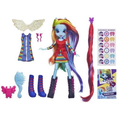 Mi Pequeño Pony Equestria Chicas Rainbow W32 - $ 105.699 en Mercado ...