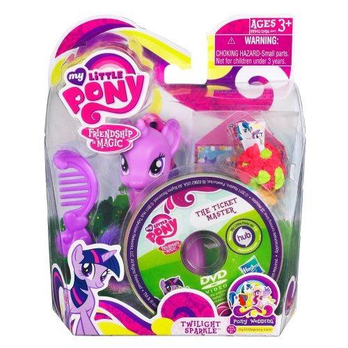 mi pequeño pony g3 twilight sparkle pony wedding figura acci