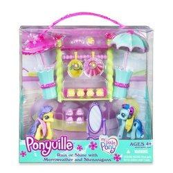 mi pequeño pony paquete ponyville rain or shine