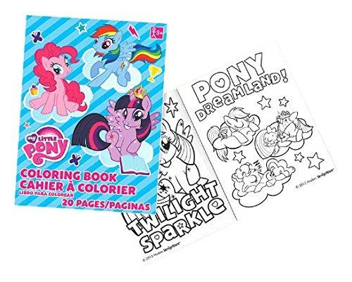 Mi Pequeño Pony Para Colorear Libro | Favor De Fiesta - $ 21.999 en ...