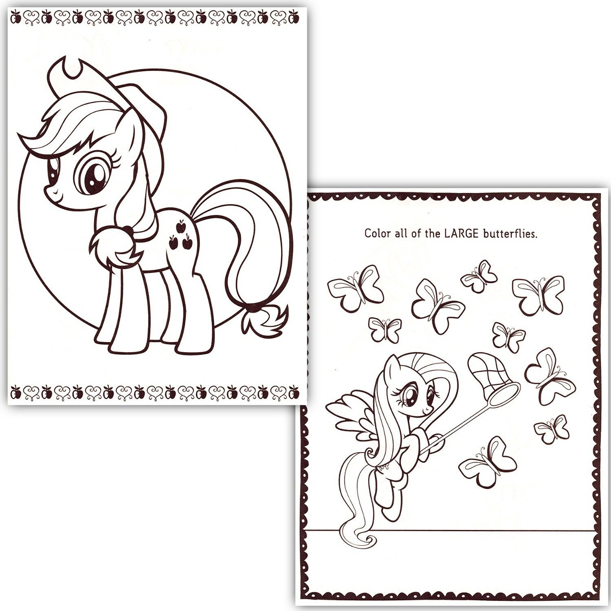 Atractivo Libro Para Colorear Mi Pequeño Pony Foto - Dibujos Para ...