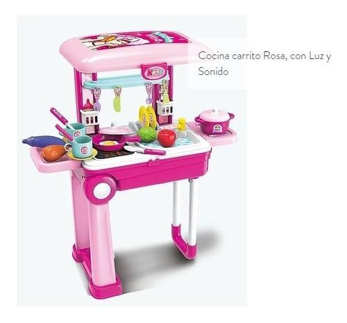 mi primer cocina juguete c/luz sonido se hace valija carrito