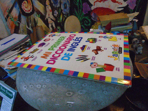 mi primer diccionario de ingles jardin de genios