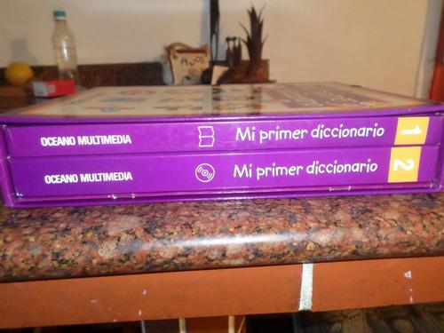 mi primer diccionario, editorial océano, usado