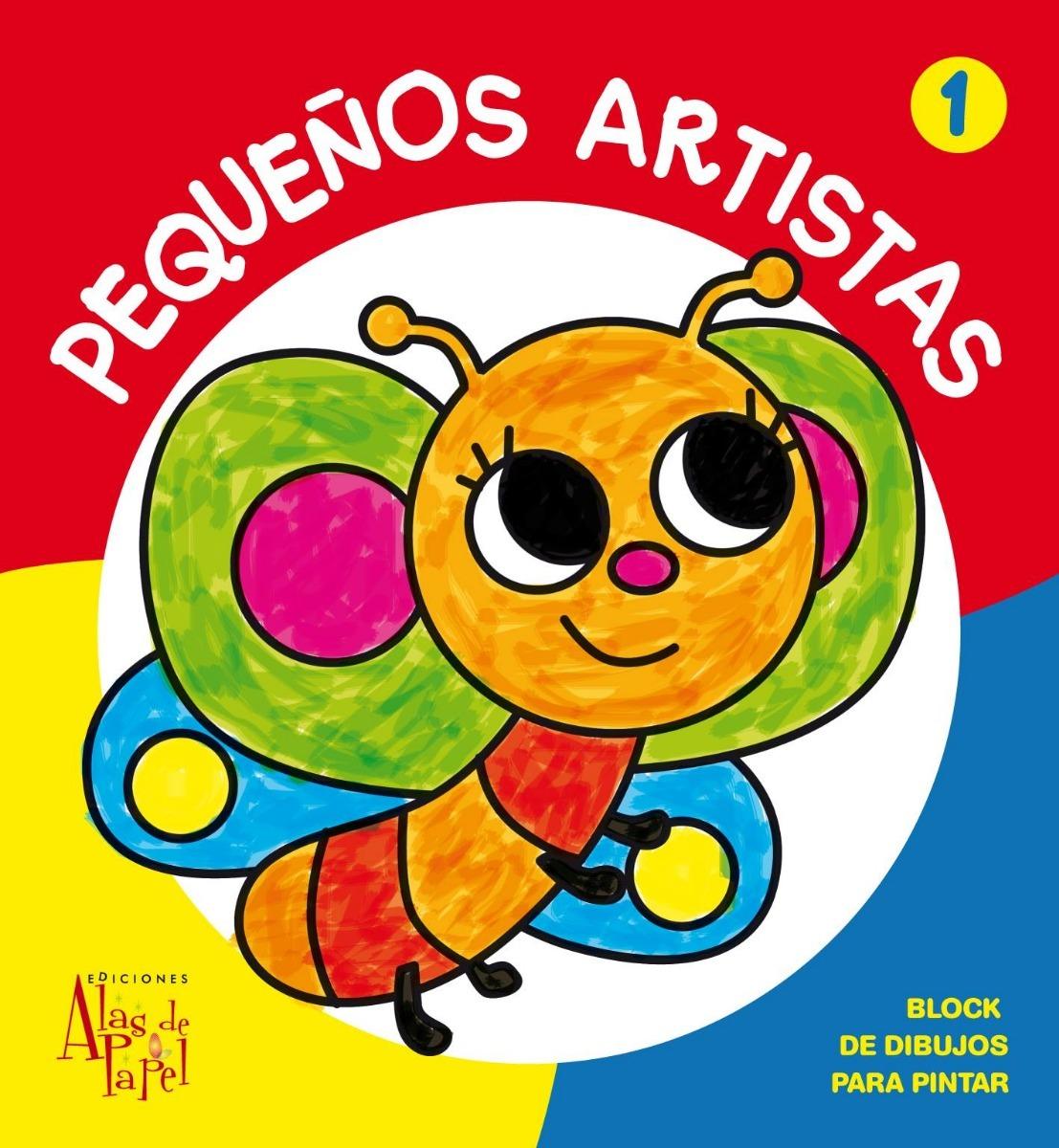 Mi Primer Libro Para Colorear Con Acuarelas 24 X26 Cm - $ 95,00 en ...