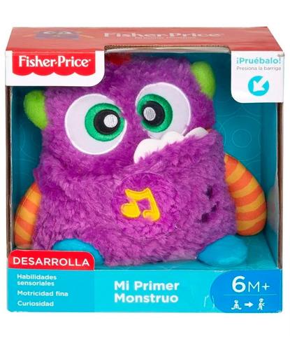 mi primer mounstro fisher price juguete musical para bebes