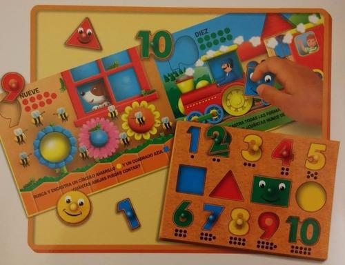 mi primer puzzle estimulacion temprana para chicos planeta