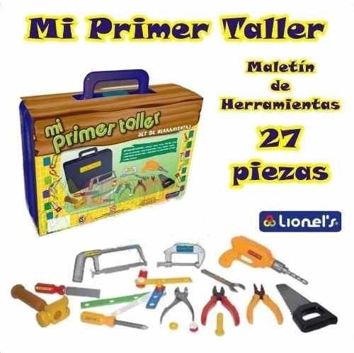 mi primer taller lionels 1157 c/maletin