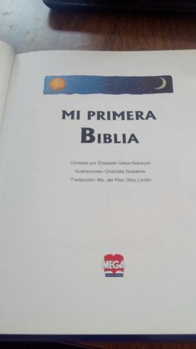 mi primera biblia - elisabeth gilles