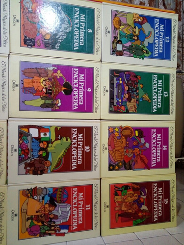 mi primera enciclopedia, el mundo mágico de los niños, 1982