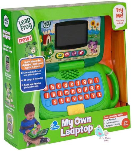 mi primera pc leap top leap frog verde 81304 juegos música