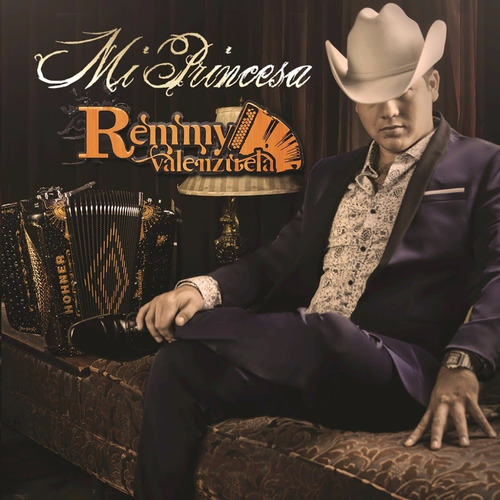 mi princesa / remmy valenzuela / disco cd con 12 canciones