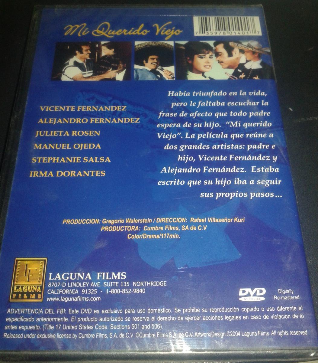 Mi Querido Viejo Película Dvd Importada Usa Nueva Sellada