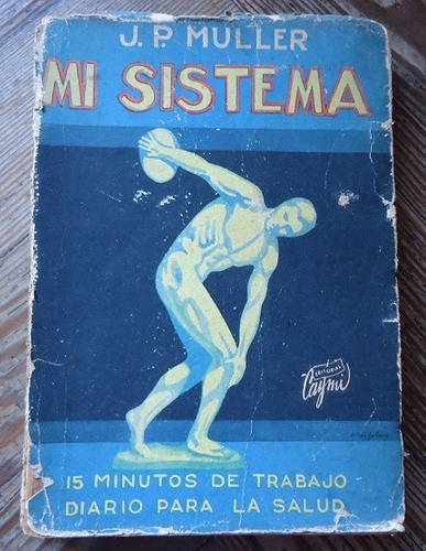 mi sistema - j. p. muller - 1954