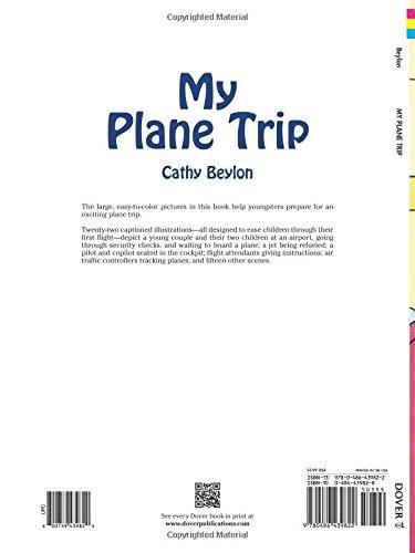 Mi Viaje En Avión (dover Libros Para Colorear) - $ 59.550 en Mercado ...