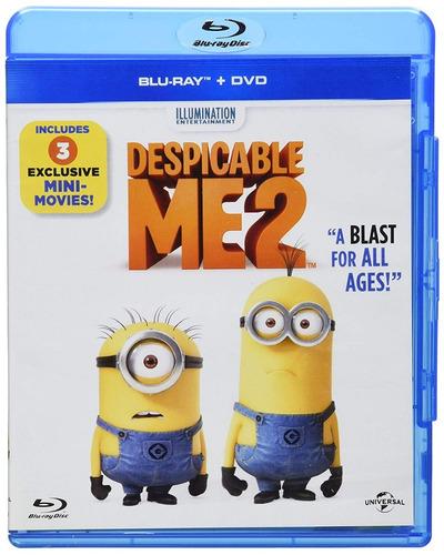 mi villano favorito 2 dos pelicula blu-ray + dvd