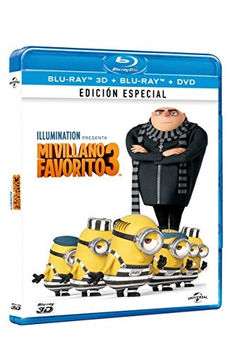 mi villano favorito 3 despreciable 3 bluray 3d bluray dvd in
