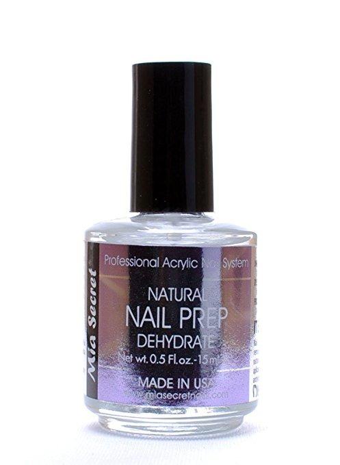 Mia Secreto Profesional Natural Nail Prep Deshidratar 0,5 On ...