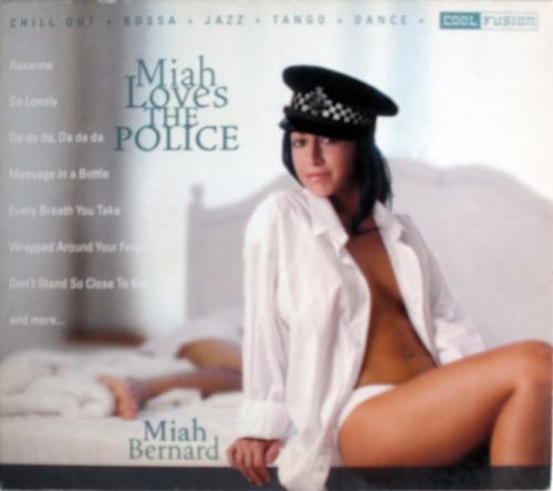 miah bernard - miah loves the police - cdpromo nacional