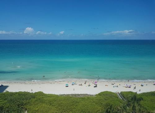 miami beach monoambiente 1º linea playa totalm equipado 4per