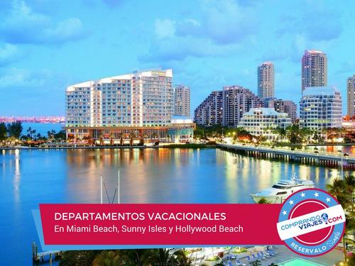miami - departamentos en la playa con reserva inmediata!