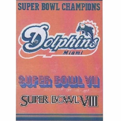 miami dolphins super bowl champions manta