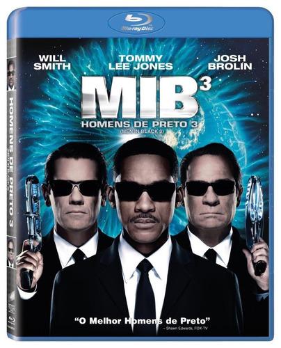 mib - homens de preto 3 - blu-ray