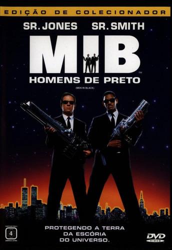 mib - homens de preto - dvd - tommy lee jones - will smith