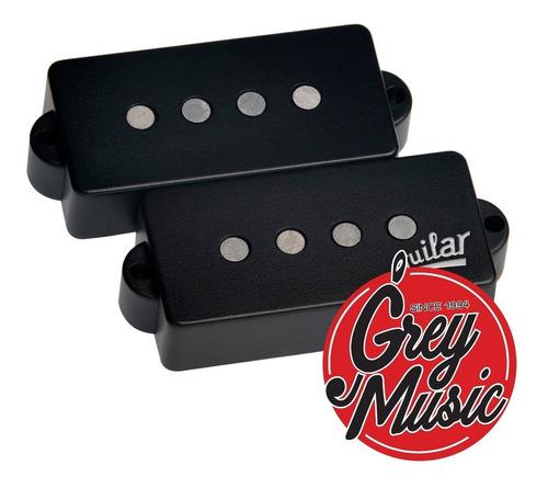 mic aguilar ag 4p 60 set precision bass alnico v - greymusic