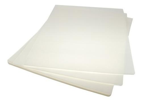 mica 100 láminas termolaminar plastificar media carta c & s