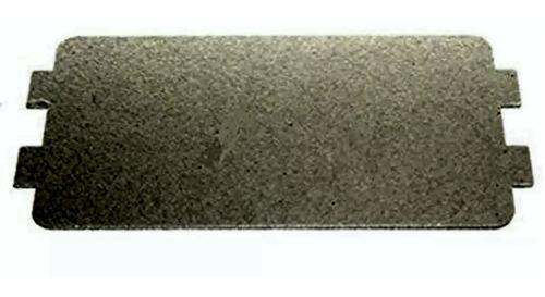 mica 4mm   para microondas  de 10,5 x 6,5 cm con orejas