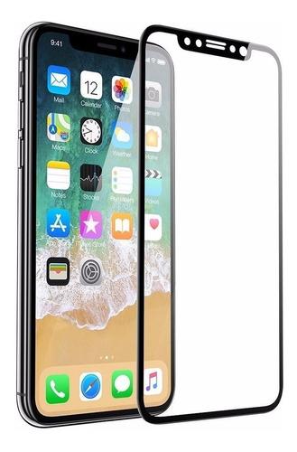 mica 5d vidrio templado iphone x protector pantalla premium