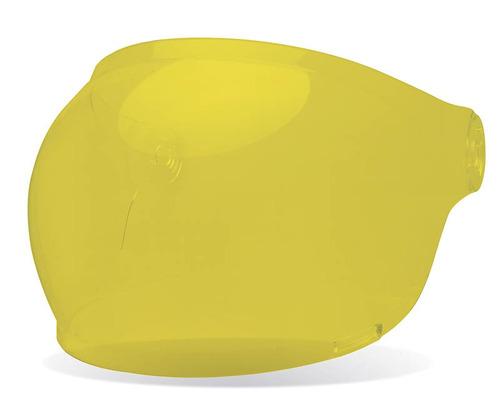 mica burbuja p/casco bell bullitt amarillo -lengüeta marrón
