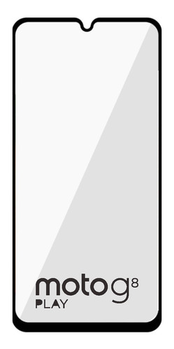 mica cristal 5d semi curva para moto g8 play g8 plus e6 plus