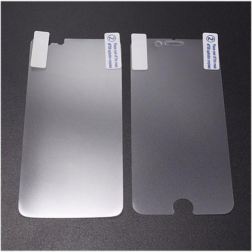 mica cristal alto impacto iphone  6 plus frontal y trasera