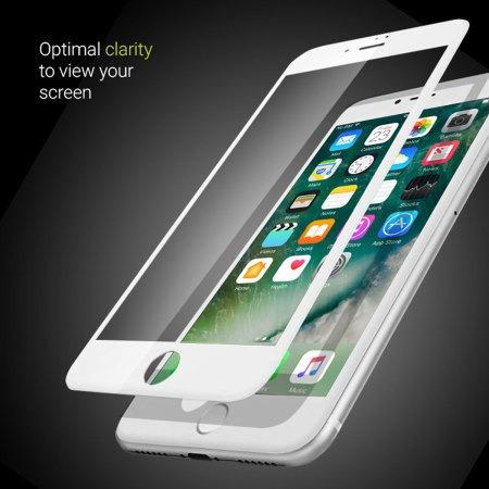 mica cristal de vidrio 9d full glue @ iphone 6 7 8 x xs