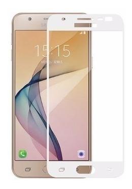 4b8fdbca8ef Mica Cristal Templado 3d Samsung Galaxy J7 Pro 2017 Completo ...