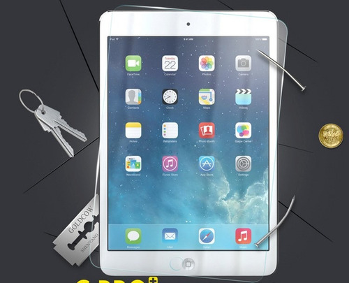 mica cristal templado 9h ipad 2 3 4 ipad air ipad mini