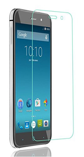 mica cristal templado 9h tempered glass zte v6