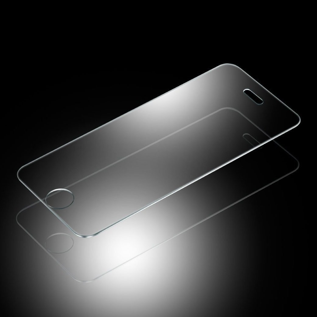 01102b1d036 Mica Cristal Templado iPhone 4 4s 5 5s 5c 6 6 Plus 7 Plus - $ 44.98 ...