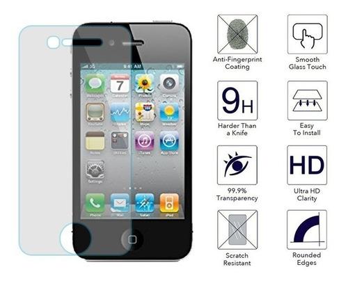 mica cristal templado iphone 4, 4s 5c-5s-se